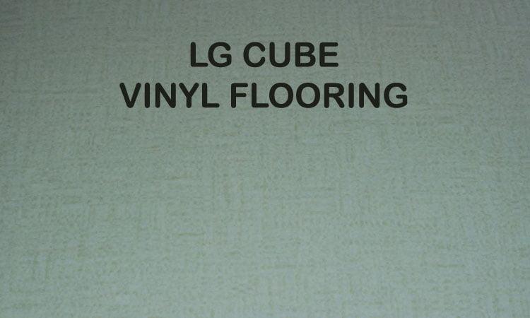 LG CUBE VINYL FLOORING
