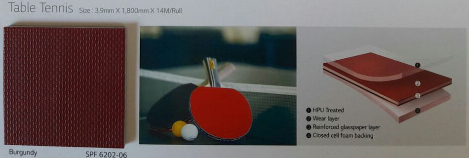 LG REXCOURT - Table Tennis