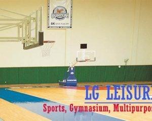 LG Leisure Vinyl lantai Lapangan Olahraga seperti Basket Ball