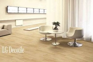 LG Decotile Vinyl Plank Tebal 3mm