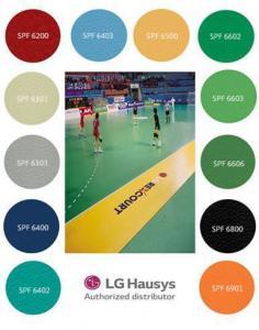 Vinyl Lantai Olahraga Lg Rexcourt