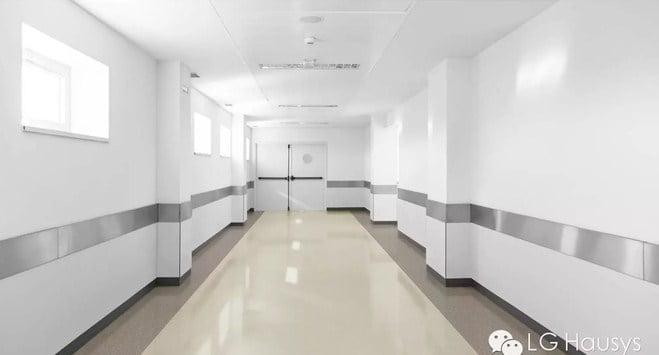 distributor lantai vinyl lg hausys - koridor