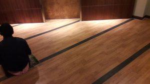 distributor lantai vinyl lg hausys vinyl - ruang musholla.